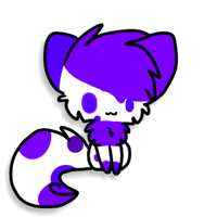 Blueberry Sticker by Snowdrop-the-Kitty