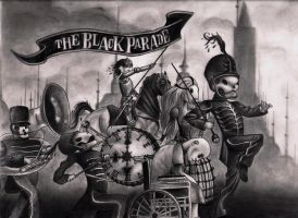 wELCOME tO tHE bLACK pARADE by future-artist-9