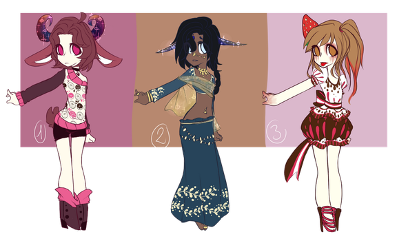 Practice adopts (humans) by ZebSkertch96