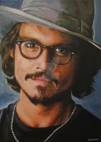 Johnny Depp by AGirlCalledCatherine