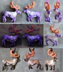 Caribou - Natural and Lavender by soulofwinter