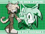 [GIFT][SSR3] Mar the Snow Leopard -update- by KnightNicole