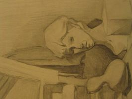 Still Life with Head by seeleah