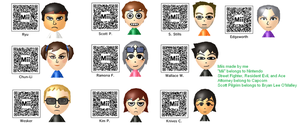 My 3DS Miis by TriforceBoy