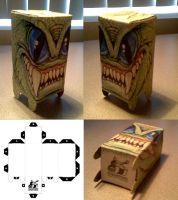 PaperCraft Monster by Renaenae