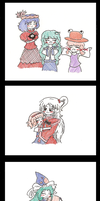 Daily Life in Gensokyo by Sciorch