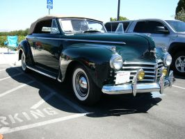 1941 Chrysler New Yorker convertible - Top Up by RoadTripDog