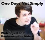 Danisnotonfire One Does Not Simply by Lafishy