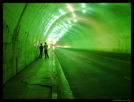 Downtown Tunnel by normalcy