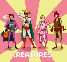 The Creatures part 2 by reikabow