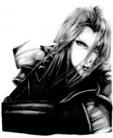 Sephiroth - WIP (Scanned) by FinalFantasy981