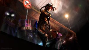 Caitlyn - Tropa do HUE| League of Legends by Lucibz