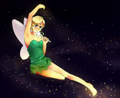 Norway is a sparkly fairy~ by BreLolli