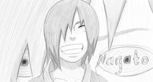 Nagato : sketch by w0lfix