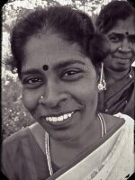 Village woman 2 India by jennystokes