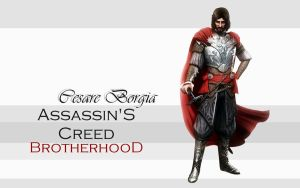 AC Brotherhood - Cesare by Blizzfan98