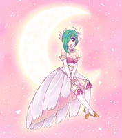 magical girl gardevoir by oko-san