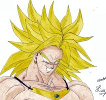 Broly by rajesrie