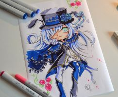 Chibi Female Mad Hatter by Lighane
