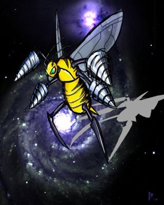 Beedrill is Evolving... by SephyreDelmalo