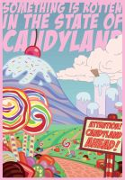'SOMETHING IS ROTTEN IN THE STATE OF CANDYLAND' by MIRKOMICS