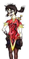 Red Dragon - Ultimate Spiderman OC (show) by LaMissMoxie