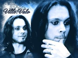 Ville Valo from HIM by IrenaT