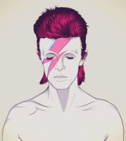 David Bowie by craniodsgn