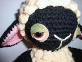 knitting sheep head by Simnut