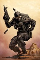 Commando Snake Eyes by spidermanfan2099