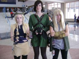 Ruffnut, Tuffnut, and Hiccup by Wolf-Girl-Rin