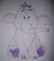 Heffalump Drawing by chloesmith8