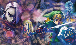 Skyward Sword -GI Cover Clean- by TheCongressman1