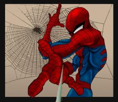 Does watever a Spider can... by BronxArtist