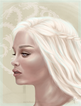Daenerys Targaryen Drawing by sunyeon-snsd