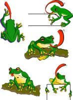 Frogs all by katanya9621