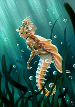 The Little Creature from the Sea by Asur-Misoa