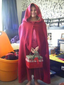 Little Red Riding Bebe by Gypsy-puma