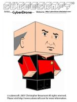 Cubeecraft - Picard by CyberDrone