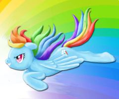 Rainbow Dash by stephanie-sullivan
