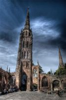 Coventry Spires HDR by nat1874