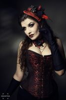 Black Roses by la-esmeralda