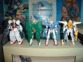 F4... My Gundam 00 kit by ernestj23