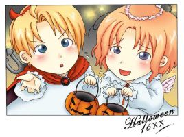APH: first halloween by dejavil