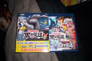Pokemon Movie 14 Blu Ray by laprasking
