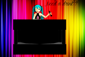 Bar Table thingy + Download by TheChaoticMuffin