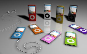 iPod Nano Chromatic by T-2-M