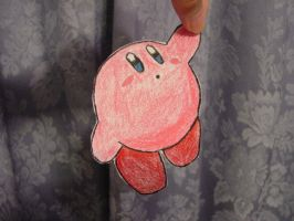 Cut Out Kirby by cutoutdrawings
