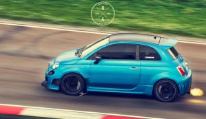 Marchettino's 500 Abarth by ilPoli