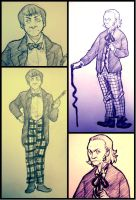 The doctor 1 and 2 by nefartari